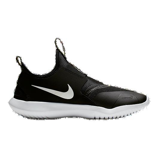 4b73c18a89b Nike Boy's Flex Runner Grade School Shoes - Black/White