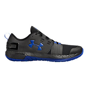 e6103f7ce7a Under Armour Men s Commit TR X Training Shoes - Black Blue