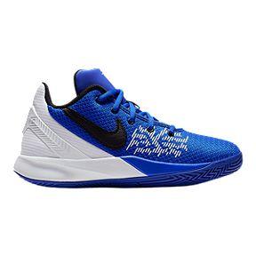 63c5120eddca Nike Boys  Kyrie Flytrap II Grade School Basketball Shoes - Racer Blue Black