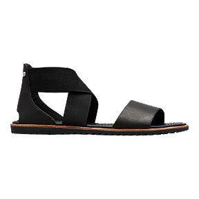 547865545 Sorel Women s Ella Sandals - Black