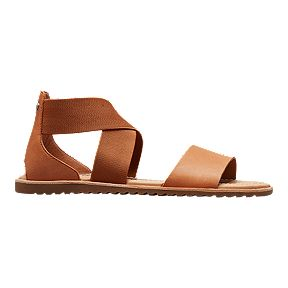 caf4e4bc0 Sorel Women s Ella Sandals - Camel Brown