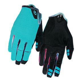 Giro LA DND Women's Bike Gloves - Glacier/TieDye