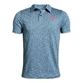 f934aa08 Under Armour Boys' Golf Tour Tips Threadborne Polo Shirt