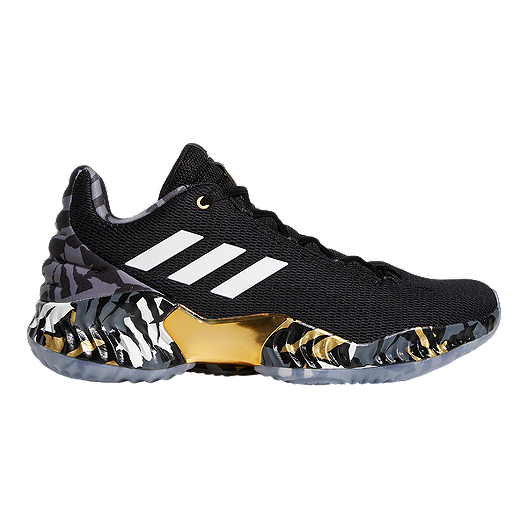 298db6941 adidas Men s Lowry Pro Bounce Low 2018 Basketball Shoes - Black White