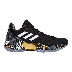 promo code 1c529 026c3 adidas Men s Lowry Pro Bounce Low 2018 Basketball Shoes - Black White