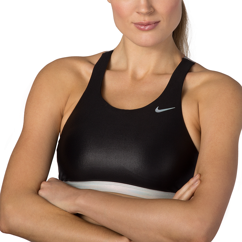 a747847edb88a Nike Women's Flash Bonded Fast Back Bikini Top