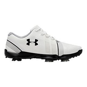 b90e1bcce4d Under Armour Golf Boys Spieth 3 Golf Shoes - White