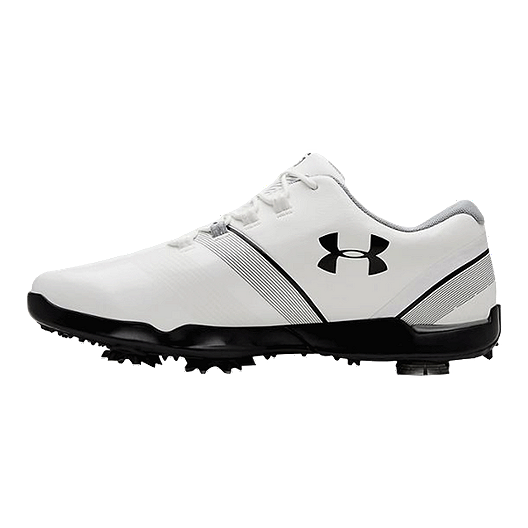 7328382d3396 Under Armour Golf Boys Spieth 3 Golf Shoes - White