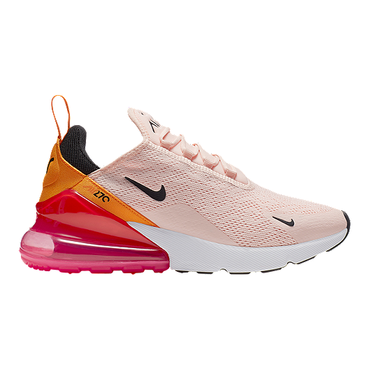 new products 1e60e ce6c2 Nike Women's Air Max 270 Shoes - Coral/Black/Orange