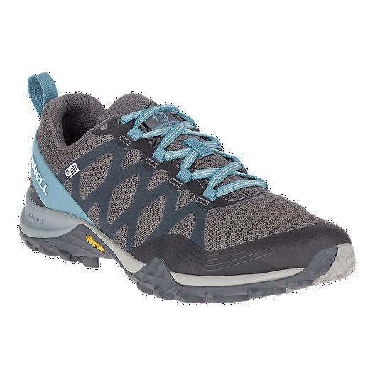 Merrell Siren 3 Mid Waterproof Women's Shoes Blue Smoke