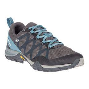 Merrell Women s Siren 3 Waterproof Hiking Shoes - Blue Smoke 707aa579a