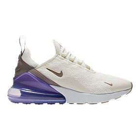 672826237c7d Nike Women s Air Max 270 Shoes - Sail Space Purple White