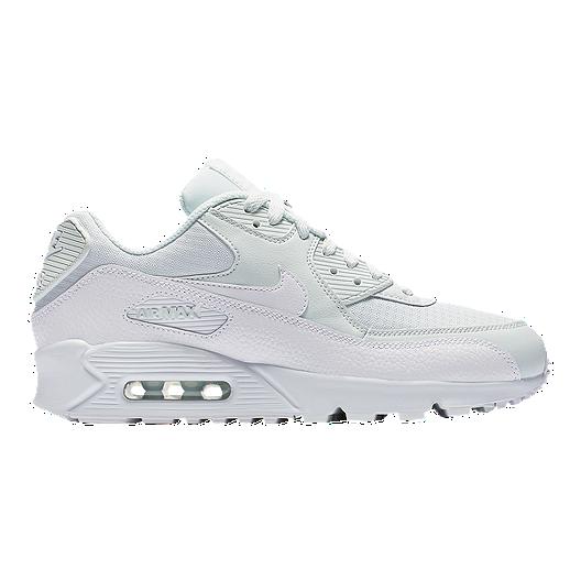Nike Women's Air Max 90 Shoes Ghost AquaWhite