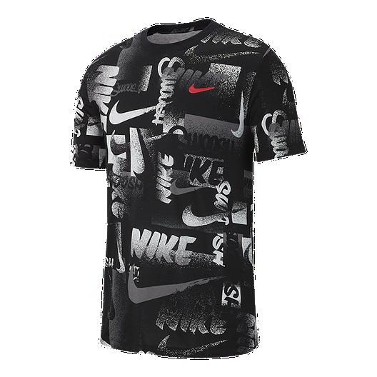 ad45ff72 Nike Dry Men's Chalk Printed T Shirt   Sport Chek