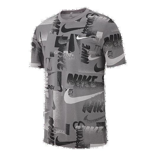 0c357376 Nike Dry Men's Chalk Printed T Shirt