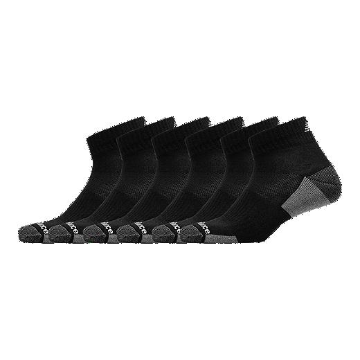 5a687169ebf2d New Balance Men's Essentials Cushion Ankle Sock - 6 Pack - Black - BLACK