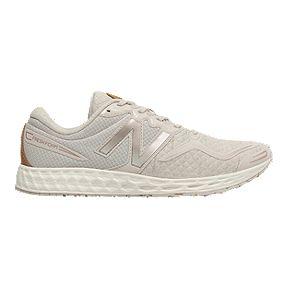 a1f1f24e65a3c New Balance Women s Fresh Foam VENIZ Running Shoes - Cream Metalic
