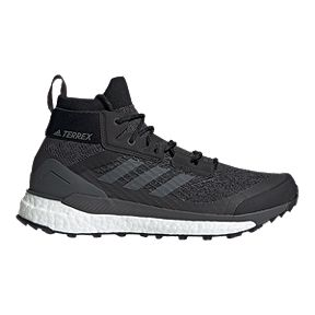 534aab3026bb8 adidas Men's Terrex Free Hiker Shoes - Core Black/Active Orange