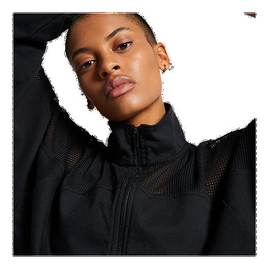 pretty nice 1643b 88035 Nike Sportswear Women s Mesh Studio Jacket - Black. (0). View Description