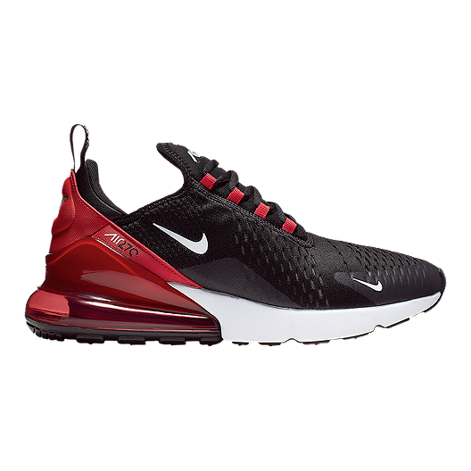 promo code db1a8 f5bf0 Nike Men's Air Max 270 Shoes - Black/White/Red