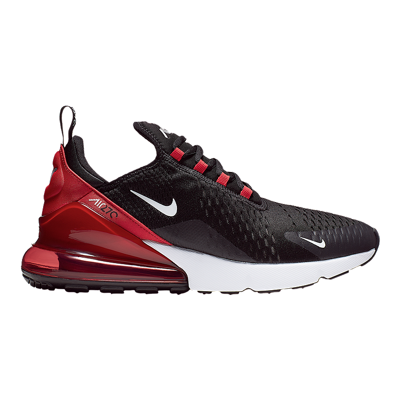 air max 270 red white black