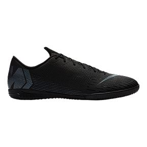 aaba6cc2c64fd9 Nike Men s Mercurial Vapor 12 Academy Indoor Court Shoes - Black
