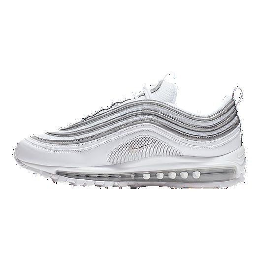 Nike Men's Air Max 97 Shoes WhiteSilverWolf Grey