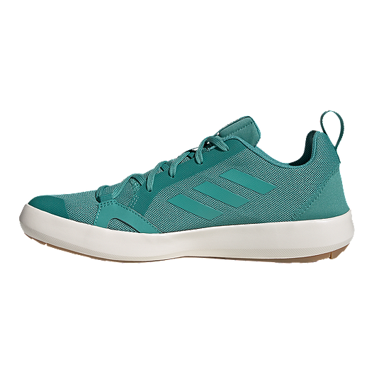 new style 9402c 2b017 adidas Women's Terrex Climacool Boat Shoes - True Green/Chalk White
