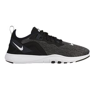 ff56c5be735bf Nike Women s Flex Trainer 9 Wide Training Shoes - Black White