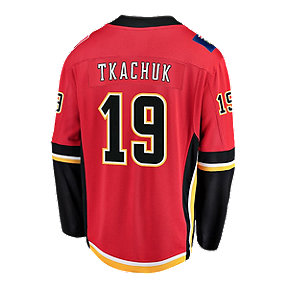 Calgary Flames Men's Fanatics Tkachuk Replica Home Jersey
