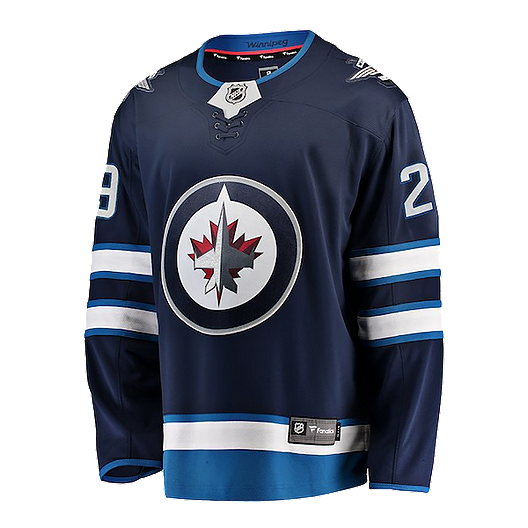 huge discount 26596 a57a1 Winnipeg Jets Fanatics Patrik Laine Replica Home Jersey