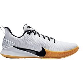 uk availability d7485 9a9f1 Nike Men s Mamba Focus Basketball Shoes - White Black Gum