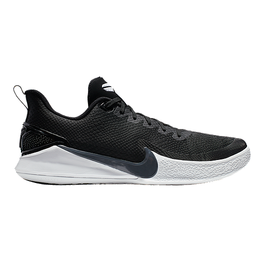 1a3adaf55b9 Nike Men s Mamba Focus Basketball Shoes - Black Grey