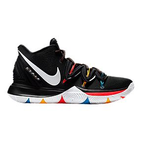 e106624eeb1d Nike Men s Kyrie 5 Basketball Shoes - Black White