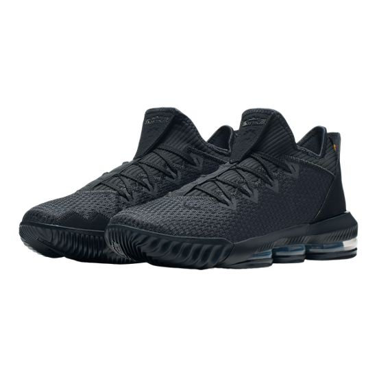 fb07a172e2d5 Nike Men s LeBron XVI Low - Black