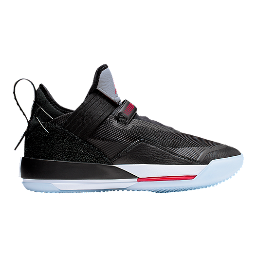 Nike Men's Air Jordan 33 SE Basketball Shoes - Black/Red