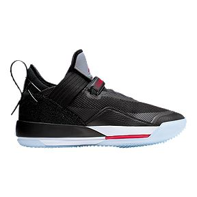 4cc3f9ea7302f8 Nike Men s Air Jordan 33 SE Basketball Shoes - Black Red