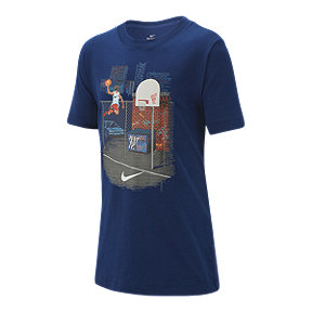 Nike Boys' Sportswear Basketball Photo Tee