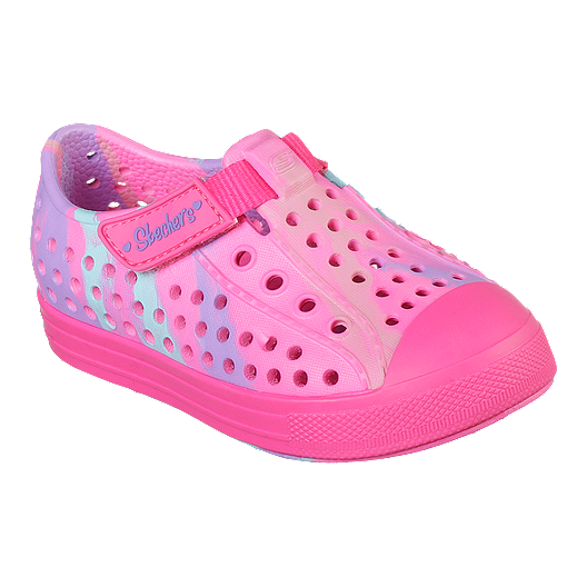 91e714e91ee56 Skechers Girl Toddler Guzman 2.0 Swirly Brights Shoes - Pink/Multi
