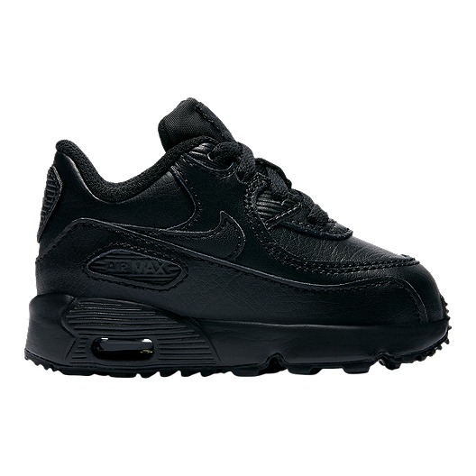 42576f9b8 Nike Toddler Air Max 90 Leather Shoes - Black