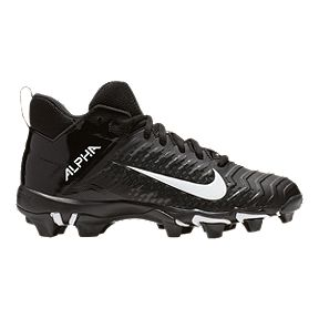 6a434cdd2 Nike Boy s Alpha Menace 2 Mid Cut Football Cleats - Black