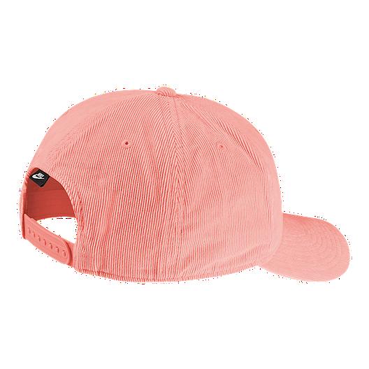 best loved 15aec 0d487 Nike Sportswear Women s Classic99 Wash Block Snapback Hat - Bleached Coral