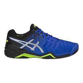859da002 ASICS Men's Gel Resolution 7 Tennis Shoes - Blue/Silver