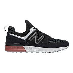 39f791e3528fb New Balance Girl's 574 Sport Trend Shoes - Black