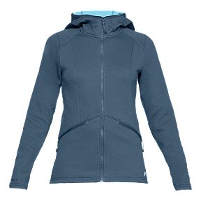 da94776ac Under Armour Women's Seeker Hoodie - Static Blue