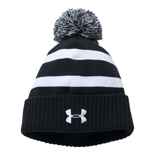 42cc34c30d9 Under Armour Boys  Pom Beanie - Black