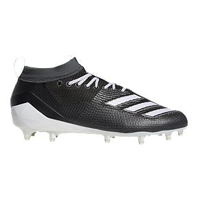 77188d77eb7b0 adidas Men s Adizero Burner Football Cleats - Black White Grey