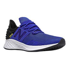 d5b49dc231546 New Balance Boys' Fresh Foam Roav Pre-School Running Shoes - UV Blue/