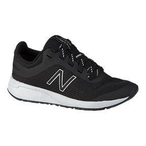 2165fc6284e49 New Balance Girls' 455 Pre-School Shoes - Black/White
