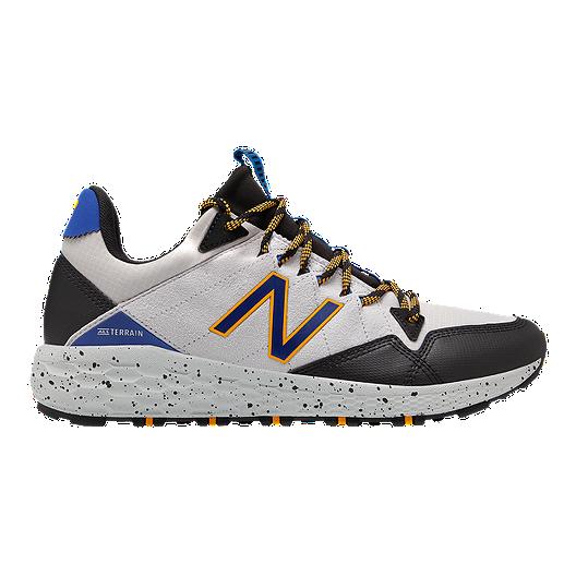 c993717532e87 New Balance Men's Fresh Foam Crag Running Shoes - Grey/Black | Sport Chek